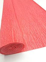 Бумага-креп №4 красного цвета