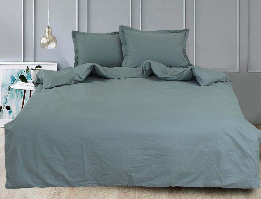 ТМ TAG Комплект постельного белья Green Grey