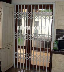 Защитные раздвижные решетки для дома