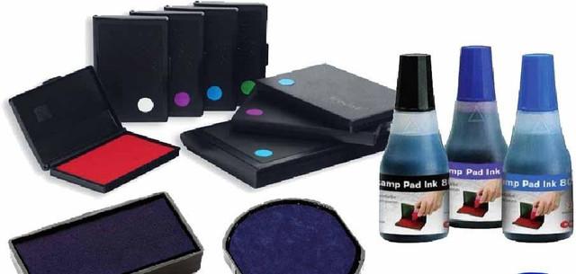 Штемпельные подушки, Штемпельное чернило (ультрофиолет, для полиэтилена, на бумагу)