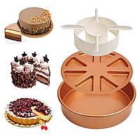 Многофункциональная форма для выпечки Copper Chef Perfect Cake Pan / Форма для запекания