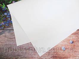 Фоамиран, цвет БЕЛЫЙ, 1,2 мм, 50х50 см