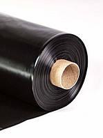 Пленка полиэтиленовая вторичная рукав Союз 100 мкр 6х50 м черная