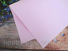 Фоамиран, цвет СВЕТЛО-РОЗОВЫЙ, 1,2 мм, 50х50 см