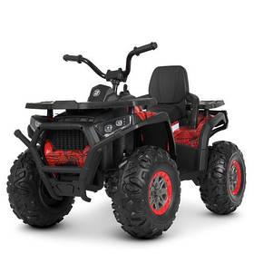 Електроквадроцикл дитячий M 4081EBLR-3-2 (SP) червоно-чорний