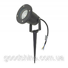 Грунтовый светильник AS-04 GU10 BK