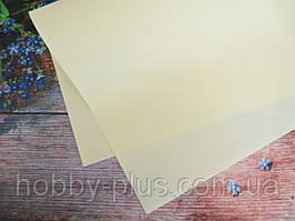 Фоамиран, цвет КРЕМОВЫЙ, 1,2 мм, 50х50 см