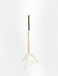 Тринога для манекена дерев'яна біла, фото 2