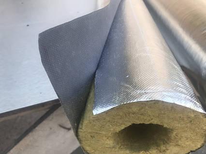 Цилиндр с фольгой d114 толщина 50 мм, кожух из ваты