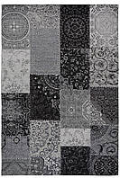 Красивий килим Шеніл сірий 1,2 х 1,7 м., фото 1