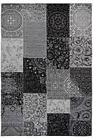 Красивий килим Шеніл сірий 1,2 х 1,7 м.