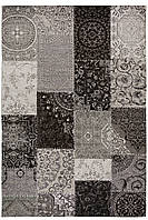 Ексклюзивний килим Шеніл сірий 1,2 х 1,7 м.