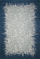 Красивий килим Шеніл сірий 1,6 х 2,3 м., фото 1