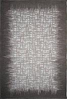 Красивий килим Шеніл сірий 1,2 х 1,8 м.