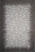 Красивий килим Шеніл сірий 0,8 х 1,5 м., фото 1