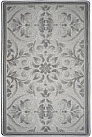 Сучасний килим 2 х 3 м, килим на підлогу, сірий килим, фото 1