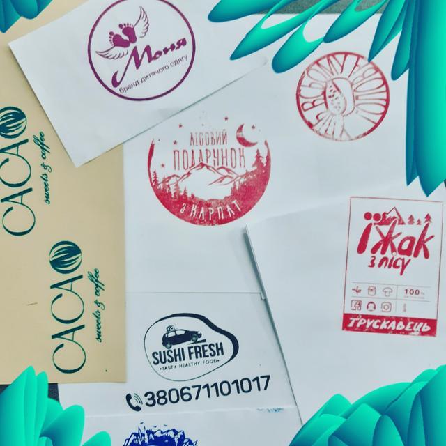 БРЕНДИРОВАНИЕ Печати штампы с вашим логотипом , изображением
