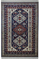 Натуральний килим 2.4х3.3м, бельгійський килим на підлогу, килим віскоза, фото 1