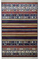 Натуральний килим 0,7х1,4м, бельгійський килим на підлогу, килим віскоза, фото 1