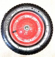 Колесо пневматическое (надувное) 360х80, подшипник шариковый (20 мм) Маркировка 3.25/3.00-8