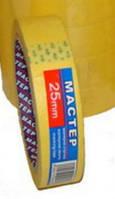 """Лента малярная  """"Мастер""""  25мм х 20м (жёлтая)"""