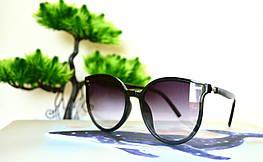 Солнцезащитные универсальные черные очки