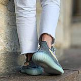 Кроссовки Adidas Yeezy boost 350 v2 Ash Blue, фото 9
