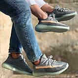 Кроссовки Adidas Yeezy boost 350 v2 Ash Blue, фото 2