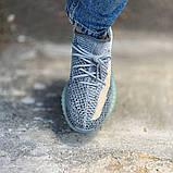 Кроссовки Adidas Yeezy boost 350 v2 Ash Blue, фото 4