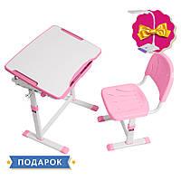 Зростаюча дитяча парта зі стільчиком Cubby Sorpresa Pink, фото 1