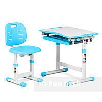 Комплект парта + стілець трансформери Piccolino III Blue FunDesk, фото 1