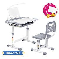 Ергономічний комплект Cubby парта і стілець-трансформери Vanda Grey, фото 1