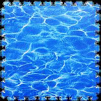 Підлогу пазл - модульне підлогове покриття 600х600х10мм океан