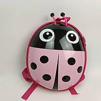 Рюкзак дитячий Божа корівка рожевий