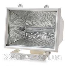 Прожектор уличный галогенный IP54 HL-03 1000W white белый