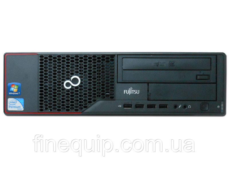 Системный блок Fujitsu ESPRIMO E700-DT-Intel Core-i3-2120-3,3GHz-4Gb-DDR3-HDD-500Gb-DVD-R-(B)- Б/У