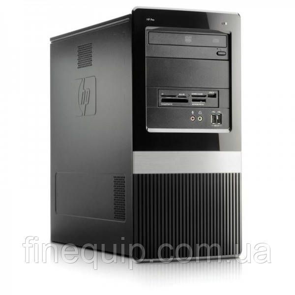 Системный блок HP Pro 3135 Athlon II X2 250-3.0GHz-2Gb-DDR2-HDD-320Gb-DVD-R-mini tower- Б/У