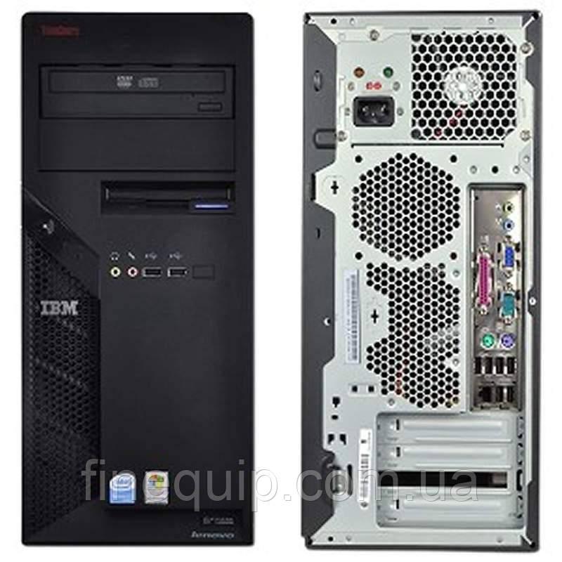 Системный блок Lenovo ThinkCentre M55 Mini tower-C2D-E6300-1.86GHz-2Gb-DDR2-HDD-250Gb-DVD-R- Б/У