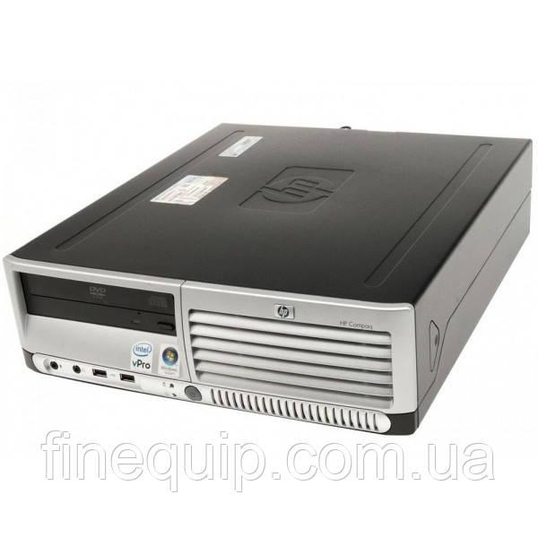 Системний блок HP Compaq dc7700-SFF-Intel-Pentium-E2160-1,8GHz-2Gb-DDR2-80Gb-DVD-R- Б/В