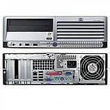 Системний блок HP Compaq dc7700-SFF-Intel-Pentium-E2160-1,8GHz-2Gb-DDR2-80Gb-DVD-R- Б/В, фото 2