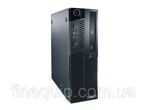 Системный блок  Lenovo M90P SFF-Intel Core-i5-650-3,2GHz-4Gb-DDR3-HDD-250GB-DVD-RW-W7P- Б/У