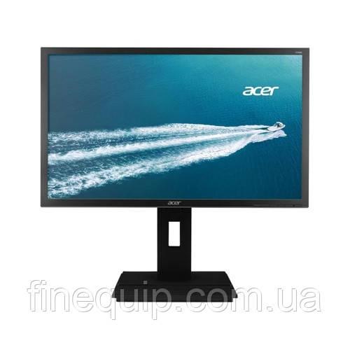 """Монитор 24"""" Acer B246HL wmdr - LED/DVI, VGA/1920 x 1080/ час відгуку 5 мс)/світло-сірий-(A)-Б/У"""