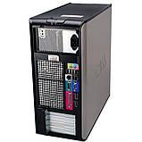 Системний блок Dell OptiPlex 755 Mini tower-C2D-E8200-2,66GHz-2Gb-DDR2-HDD-250Gb-DVD-R- Б/В, фото 2
