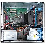 Системний блок Dell OptiPlex 755 Mini tower-C2D-E8200-2,66GHz-2Gb-DDR2-HDD-250Gb-DVD-R- Б/В, фото 3