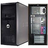 Системный блок Dell OptiPlex 760-Mini tower-C2D-E8400-3,0GHz-2Gb-DDR2-HDD-250Gb-DVD-R- Б/У, фото 2