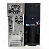Системний блок HP xw4600 Workstation-C2D-E7500-2,93GHz-4Gb-DDR2-250Gb-HDD-DVD-R+NVIDIA GeForce G100(256МБ)-, фото 2