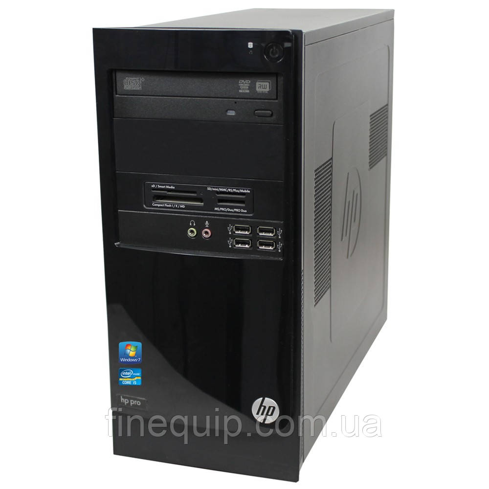 Системний блок HP Pro 3300-Pentium G840-2,8GHz-2Gb-DDR3-HDD-500Gb-DVD-R-W7P-mini tower- Б/В
