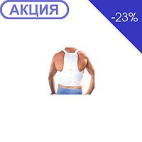 Алком 1040 Корректор осанки корсетный ( белый , черный)