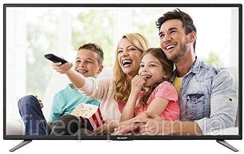 "Телевизор 50"" Sharp LC-50CFE5101K (Full HD / 100Hz (Active Motion) / DVB-T / T2 / C) - (C)-Б/У"