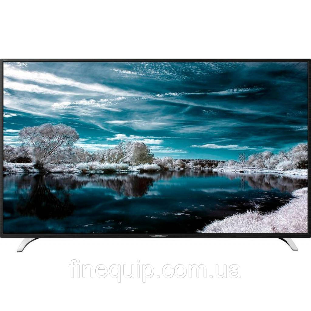 "Телевизор 49"" Sharp LC-49CFE6242E-Smart TV-((A)-Б/У-с витрины"